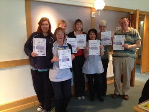 Marie Curie Cancer Care Newcastle Hospice Refresher Course