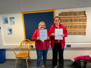Addington School Trainer group